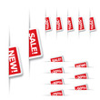 Sale reduction tags