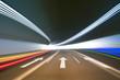 Leinwanddruck Bild - tunnel background