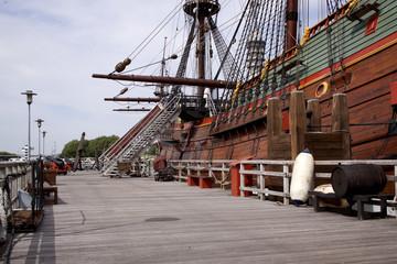 Reconstruction of the VOC ship The Batavia
