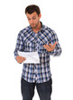 Mann erhält schlechte Nachrichten per Post