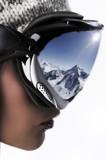 skieuse et les sports d'hiver
