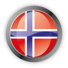 Button Europa - Norwegen Norway