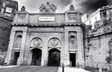 Victoria Gate in Black and White