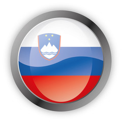Button Europa - Slowenien Slovenija