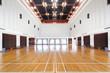 Empty sports court - 32970147