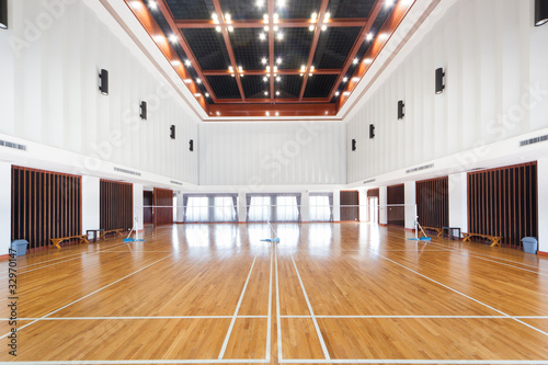 Leinwandbild Motiv Empty sports court