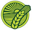 wheat sign - badge (design)