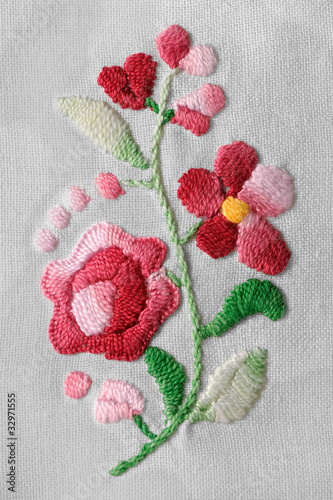 Old embroidery