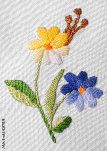 Old needlework