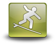 """Yellow 3D Effect Icon """"Surfing"""""""