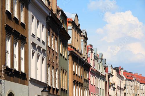 Poznan - old town architecture © Tupungato