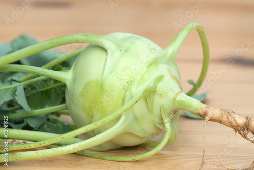 cabbage of kohlrabi