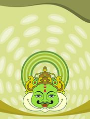 kathakali mask, Dance mask