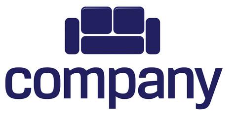 Sofa logo for furniture company