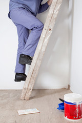Cropped image of an workman