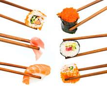 Les sushis japonais