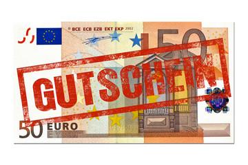 50 Euro Gutschein Stempel