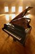 Leinwanddruck Bild - Grand Piano in Light II