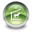 "Green Glossy Pictogram ""Stable"""