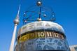 Weltzeituhr on Alexanderplatz