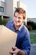 Moving Man with Box