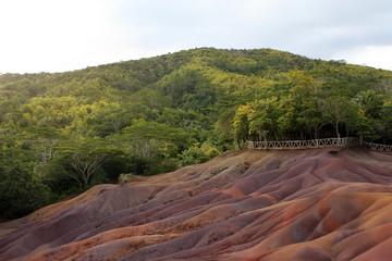 Terres des sept couleurs auf Mauritius