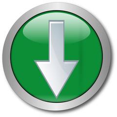 Grüner Button mit Pfeil nach unten