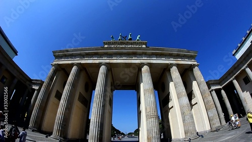 Brandenburger Tor footage video clip film 1080p 25fps pal