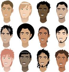 Men Faces 4