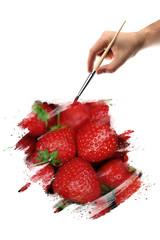 pennellata di fragole