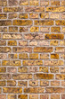 pattern of old brick stone  at the church in Wittlich