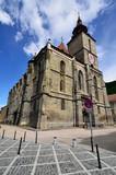 Black Church in Brasov, Transylvania, Romania poster