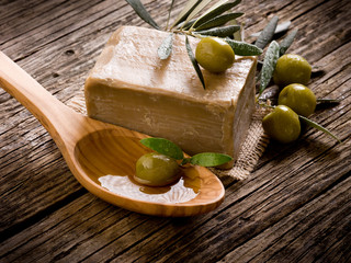 handmade olive oil soap