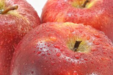 Sabrosas manzanas.