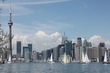 Canada, Toronto, view buildings