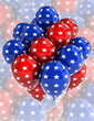 USA patriotic balloons
