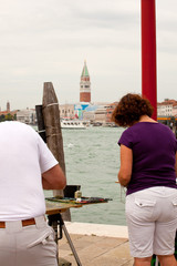 Painter in Venice