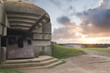 Bunker on the coastline, Gold Beach..