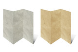 recycled folded paper craft poster