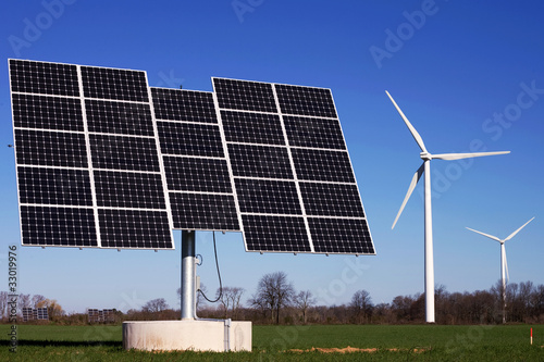 Alternative Energy - Wind and Solar