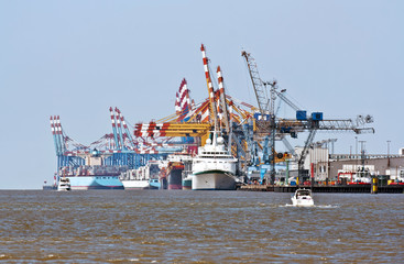 Bremerhavener Containerhafen