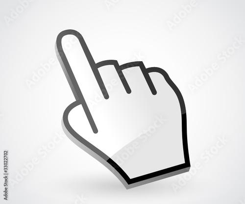 3D - Hand Cursor