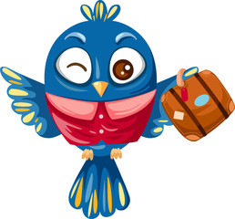 Blue bird travel