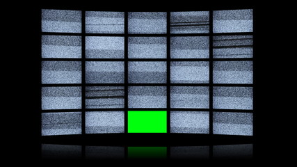 Green screen Led wall
