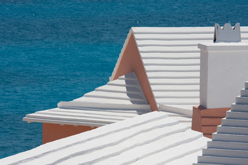 Stepped Bermudian roofs