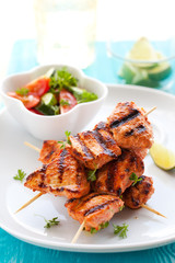 chicken masala skewers