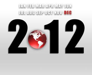 2012 Disaster Calender