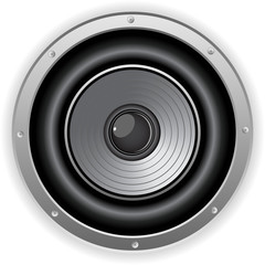 Round Isolated Sound Speaker