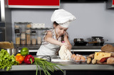 girl cook poster