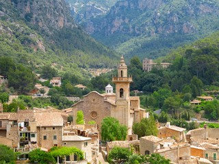 Vista de Valldemossa, view.